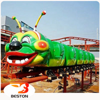 Professional manufacturer caterpiller roller coaster rides for sale