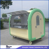 2015 Newly Potable cart Newstyle professional JX-FR220A Mobile hot dog van