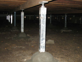 Adjustable house stump buy house stumps lally columns for Where to buy columns for house