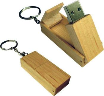 high-speed wood USB flash drive with wooden cap