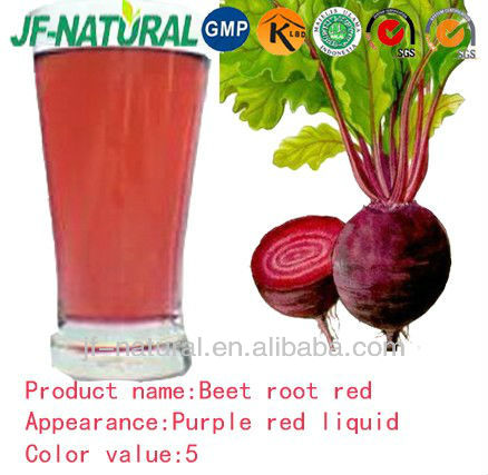 Beet root red liquid natural color