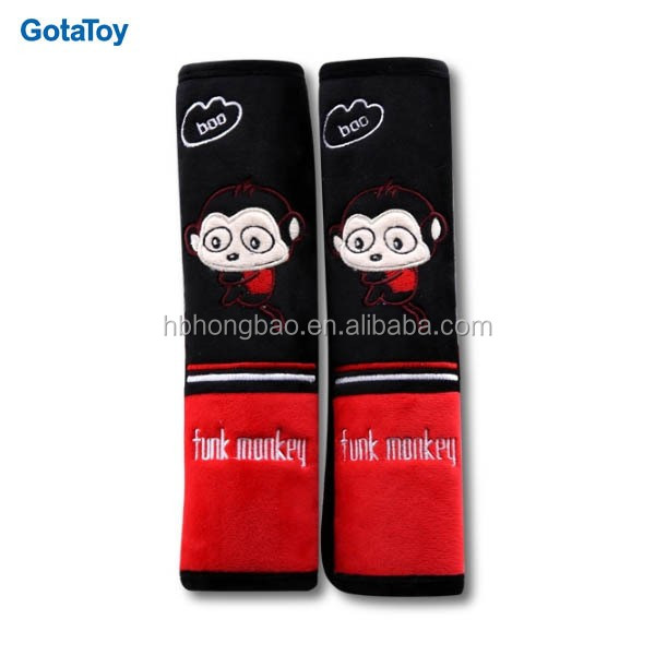 Customize promotional PU safety belt cover