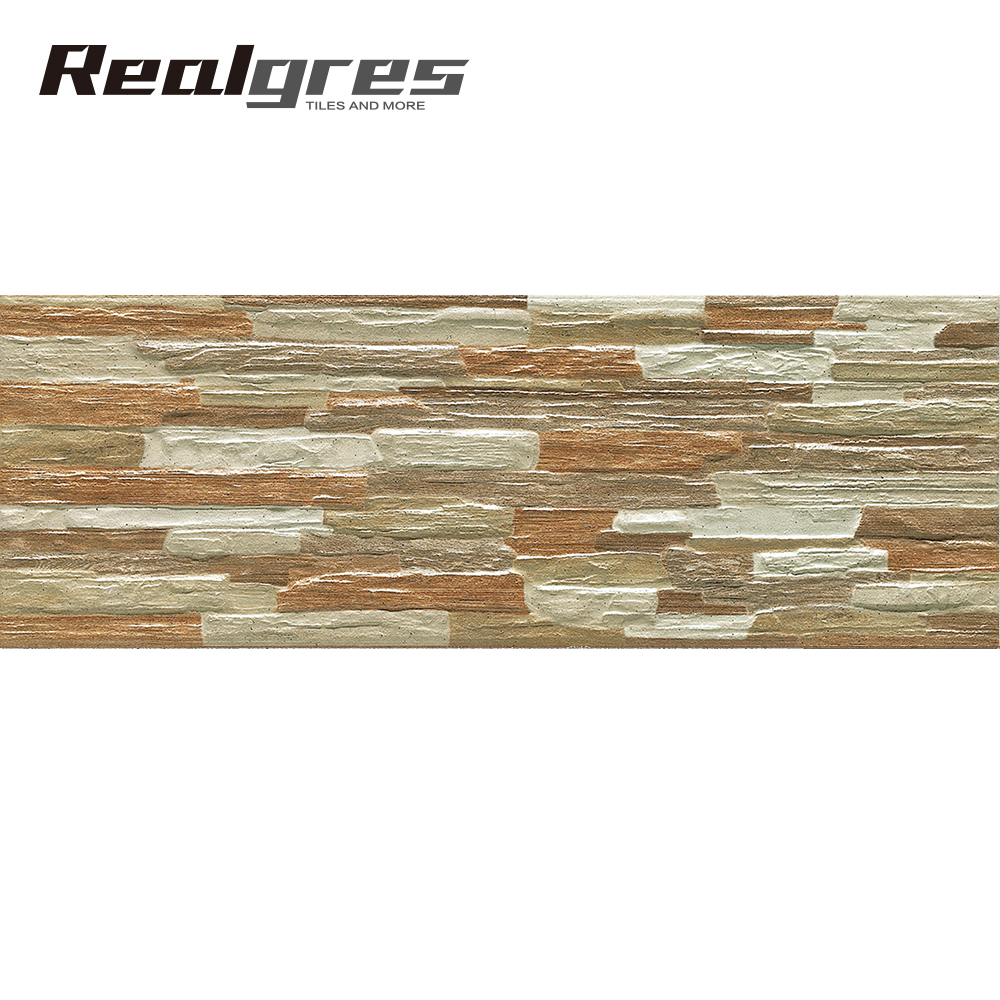 Fireproof exterior wall tiles for house