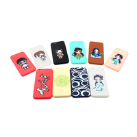 cheapest free sample personalized custom case spraying or water paste printing phone case
