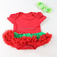 CL25 girls Christmas dress baby climbing clothes leotard Romper dress