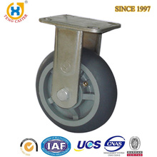 Jiaxing Wholesale Rigid Type 6 Inch TPR Cart Wheel
