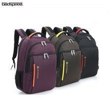 high quality nylon durable fashion school young ladies waterproof shockproof laptop bag women backpack
