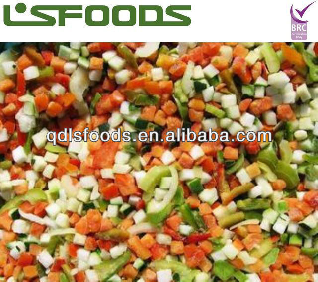 2015 Chinese New Crop Frozen IQF Mixed Vegetables