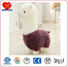 plush toy wholesaler cute sheep farm toy with white head(PTAL0817031)