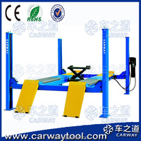 2016 popular product CE approved car scissor lift / portable lifter /4 post / Four-wheel mobile scissor lift
