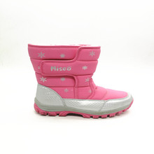 cheap waterproof antiskid warm wool kids snow boots wholesale