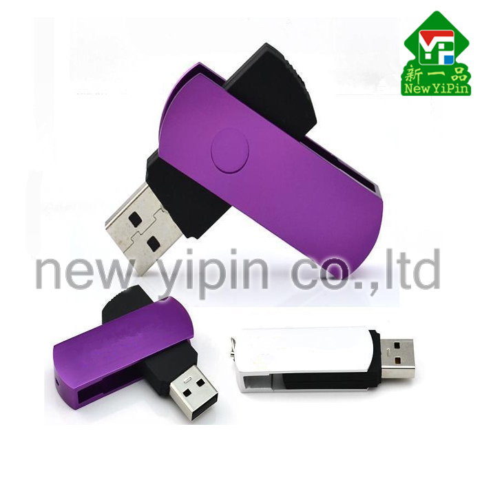 customized logo swivel USB flash drive memory stick