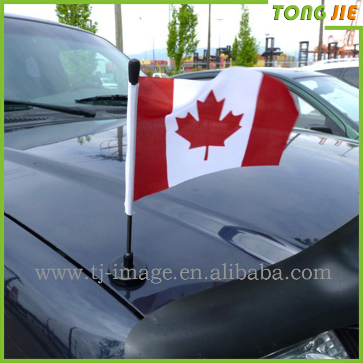 Square military alliance pennant car antenna flags