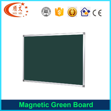 Green wood frame small wall hanging mounted wooden blackboard chalkboard with hook for kids school student restraunt