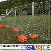 factory sale portable construction site used temporary fence