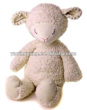 personalized stuffed animal lamb with embroidery