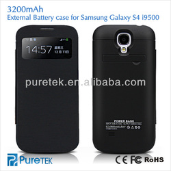 Rechargeable battery case for Samsung S4 i9500 External recharge power bank for S4 Power Charger case for Samsung Galaxy s4