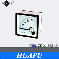 Analog only moving coil type frequency meter Square panel meter 72*72