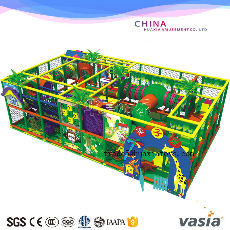 children indoor playground jungle theme games for hot sale