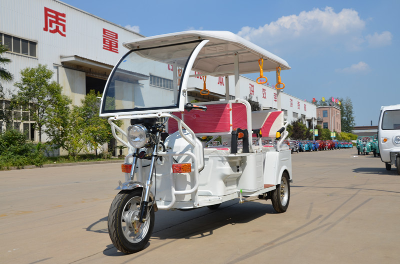 bajaj three wheeler electric tricycle rickshaw dc motor electric vehicle
