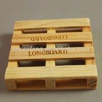 wanfeng wholesale mini craft wooden pallets wooden pallet coaster collapsible wooden box