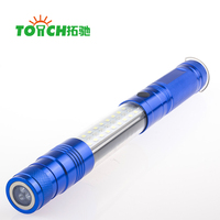 Wholesales Magnetic 3 LED FlashLight Telescopic Flexible Neck Pick Up Tool Telescopic Flashlight With Magnet