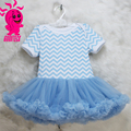 latest fashion comfortable strated fluffy chiffon Baby pettiskirt tutu