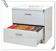 Guangzhou 2013 hot sale movable cheap 2 drawers steel filing cabinet