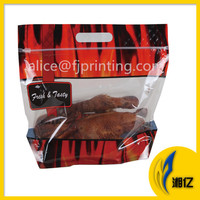 Rotisserie microwave oven roast chicken bag with ziplock