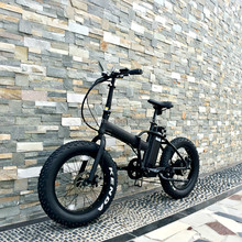 Changzhou Yunshine fat folding electric bike, 36v 250w 350w 500w electric bike conversion kit