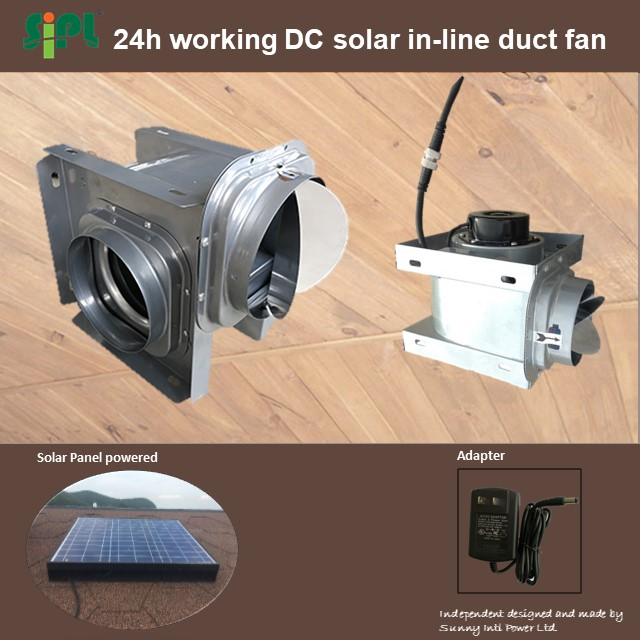 sola fan 18V warehouse solar ventillation fan solar metal solar panel motor home kit exhaust fan