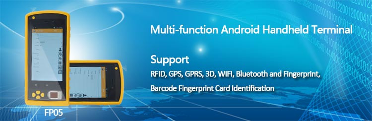 Wholesale Price Android Handheld Barcode Scanner Fingerprint Pos Terminal