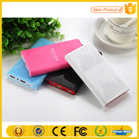 Portable Smart X Big Capacity Power Bank Hot Sale With Dual USB Power Bank