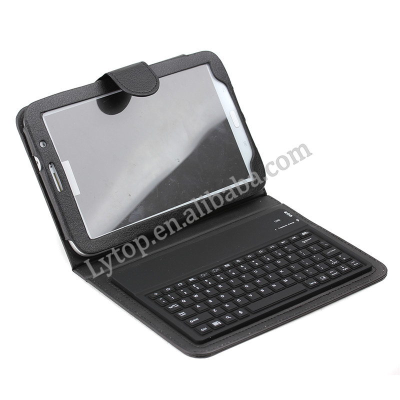 2015 promotion hot leather case mini wireless bluetooth keyboard for samsung galaxy note N5100