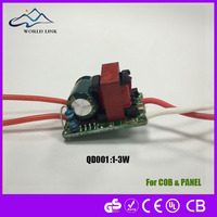 led flood light driver dc to dc constant curent 12v dc input led driver 50w 1500mA