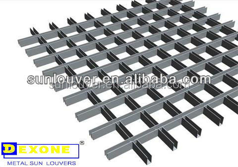 grate aluminum decorative suspended ceiling tile