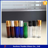 10ml Glass Roller Bottle for Smart Collection Perfume and Essential Oil,Roll On Perfume Bottles