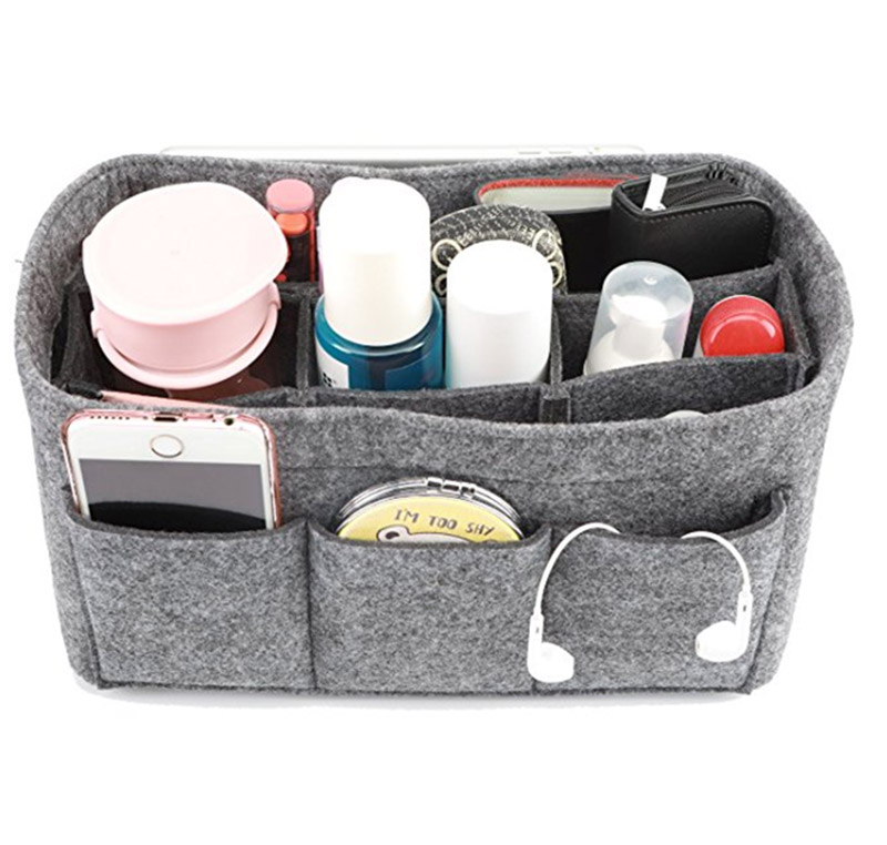 Felt Handbag Organizer Bag Insert purse organizer bag Fits Speedy Neverfull