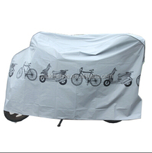 Waterproof Polyester PEVA Oxford Fabric bike helmet cover