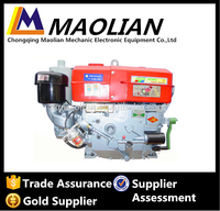 Chinese Famous Brand JD300D 30Hp Water Cooled Single Cylinder Diesel Engine For Marine