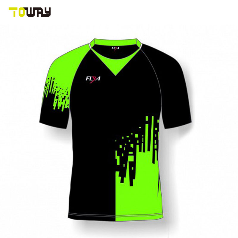 custom new model printed cricket jersey design