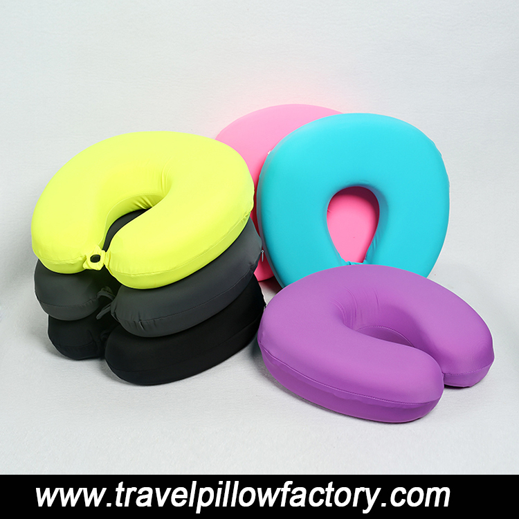 2017Professional factory supply adults <strong>U</strong> shaped memory foam travel neck pillow