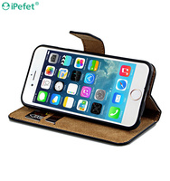 New Arrival High Quality Stand Flip Retro Leather phone case with magnetic For iphone 6/S