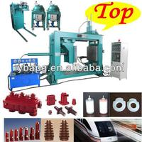 Factory made Good price epoxy resin & silicone 35kv static contact box heating press mould machine