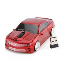 High quality and Promotional USB Optical Cordless Car Mice
