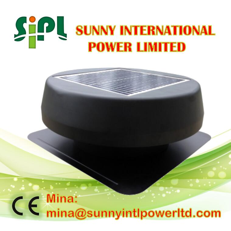Solar Panel vent kits Solar Energy Systems Axial Flow Fans solar attic top exhaust ventilation roof fan