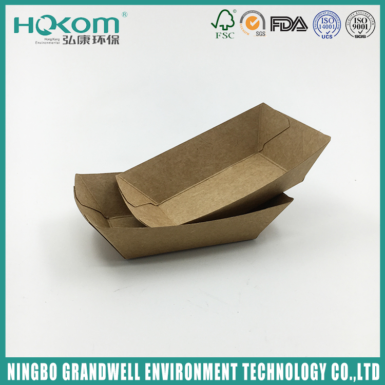 Factory Sale Various New Microwavable Paper Food Tray