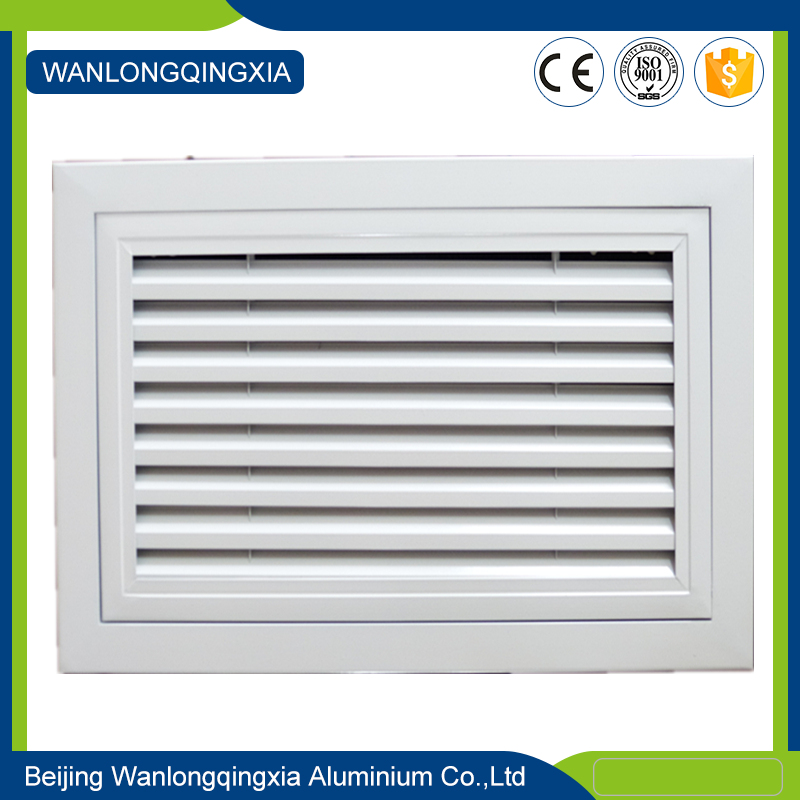Any Logo Central Air Conditioning End Aluminium linear bar grille