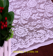 2017 Guipure 100% Polyester White Flower Pattern Lace Fabric New Sample