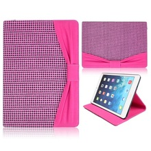 Kajsa Bowknot Pattern Stand Flip Leather Case for iPad Mini 2 Retina